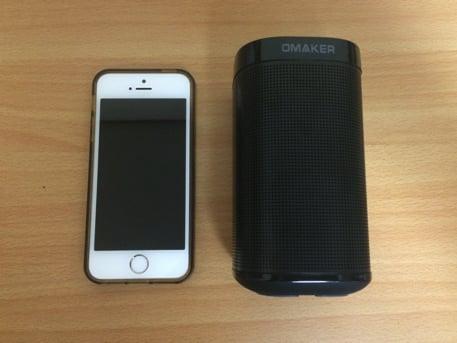 背の高さはiPhone5sと同じ