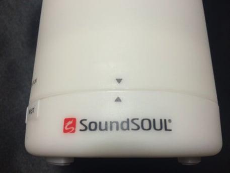 soundsoulの小型加湿器 外観