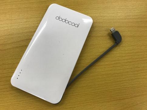 dodocoolの5000mAhでiPhone・Androidのどちらも充電できるモバイルバッテリー07