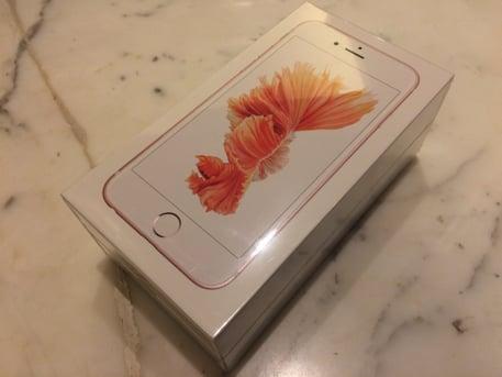シャッター音の鳴らないSIMフリー香港版iPhone6s