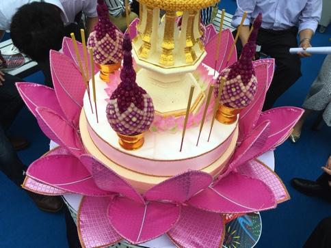 タイ国政府観光庁の船 大阪天神祭05