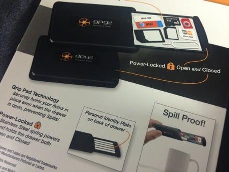 SIMカードケースGPG2 パッケージ