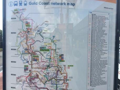 ゴールドコースト空港から市内への行き方。777番のバスに乗りBroadbeach Southで降りよう