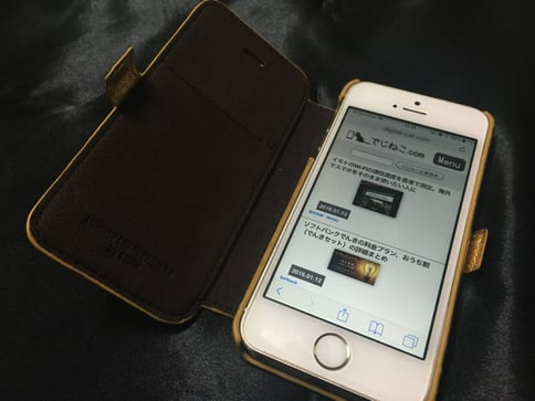 STORY LEATHERのiPhoneケース iPhone5s
