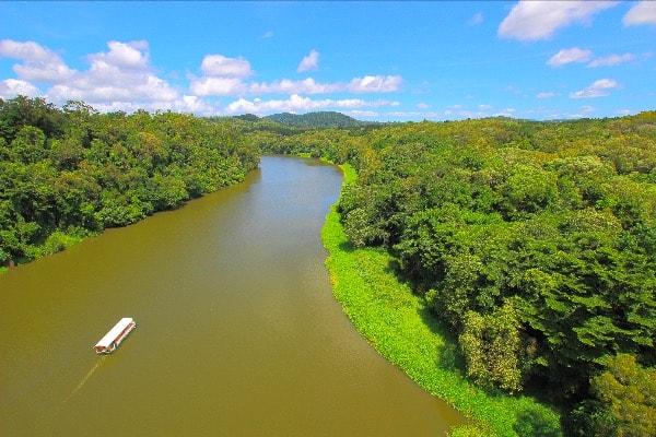 バロン川 キュランダ