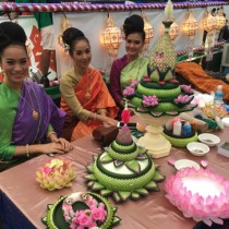 日本三大祭の一つ、大阪の天神祭でタイ政府観光庁の船に乗ってきました