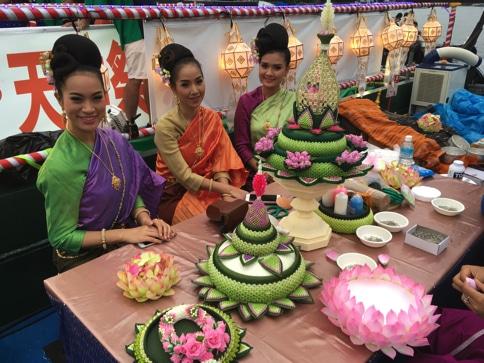 タイ国政府観光庁の船 大阪天神祭01