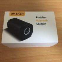 ポータブルBluetoothスピーカー「Omaker M075」は小型で高音質