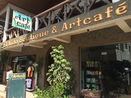Art Cafeの場所