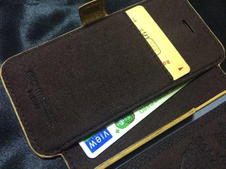 STORY LEATHERのiPhoneケース カード入れ