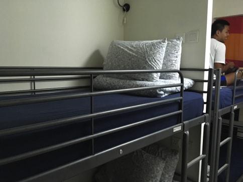 Aljunied@SGのベッド