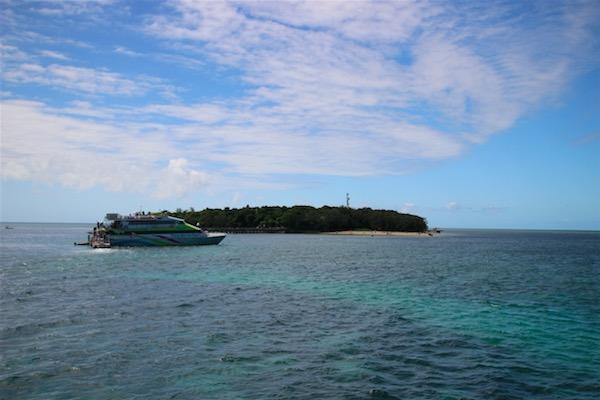 グレートバリアリーフのグリーン島