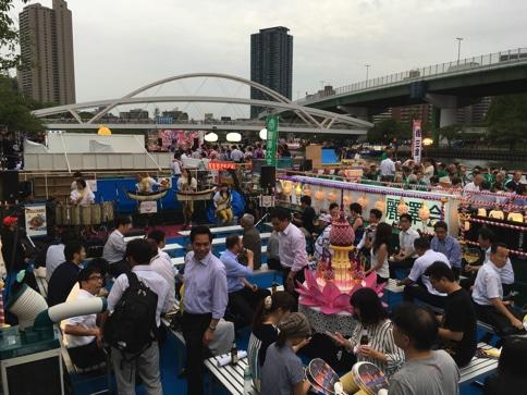 タイ国政府観光庁の船 大阪天神祭03