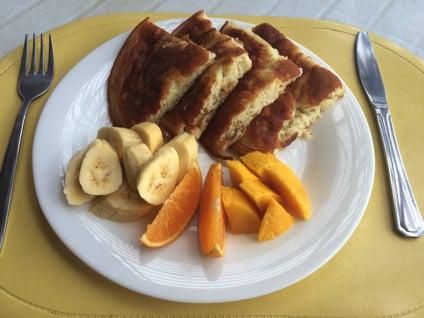 エル ゴルドズ アドベンチャー & ゲストハウスの朝食
