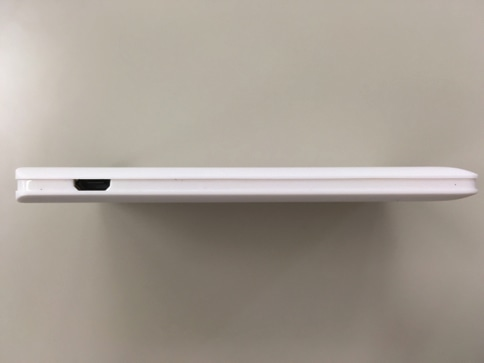 dodocool超薄型モバイルバッテリー インターフェース