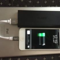 iPhoneユーザに!小型モバイルバッテリーと短いLightningケーブルが超便利