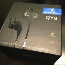 SoundPEATS QY8レビュー。音質良し、防水、apt-X対応。ランニングに最適なイヤホン