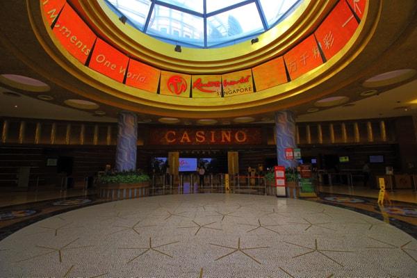 セントーサ島のカジノ
