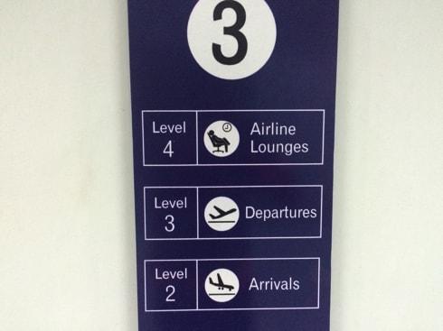 エレベータでLevel4まで上がって
