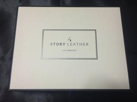 STORY LEATHERのiPhoneケース 箱