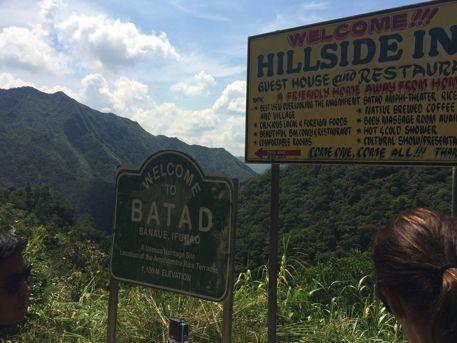 Batadの山の中