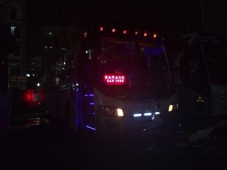 マニラのフロリダバスのバス乗り場