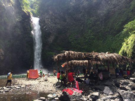 目的地の滝