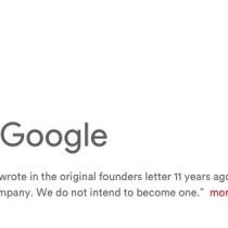 Alphabetという新会社をGoogle創業者が設立。Googleは子会社に