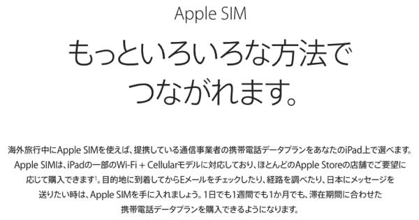 Apple SIM