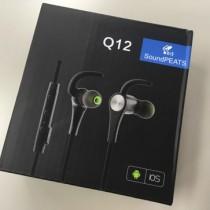 持ち運びしやすいBluetoothイヤホン。SoundPEATS Q12はコスパが高くおすすめ