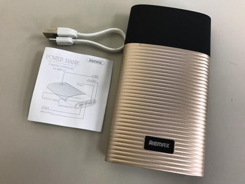 モバイルバッテリー「PERFUME 10000mAh」はUSBでもLightningケーブルでも充電可能!02