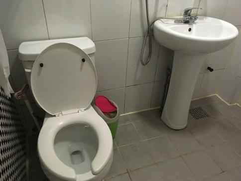 ゲストハウス明洞のトイレ