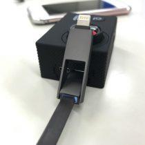神!iPhoneのLightningアダプタつき2in1マイクロUSBケーブル「STRIVE」