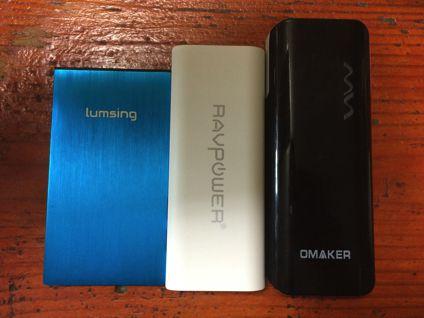 RP-PB07と他のモバイルバッテリーの比較