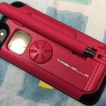自撮り棒を内蔵しキレイに撮れるiPhone7用ケース!旅行好きの女子におすすめ