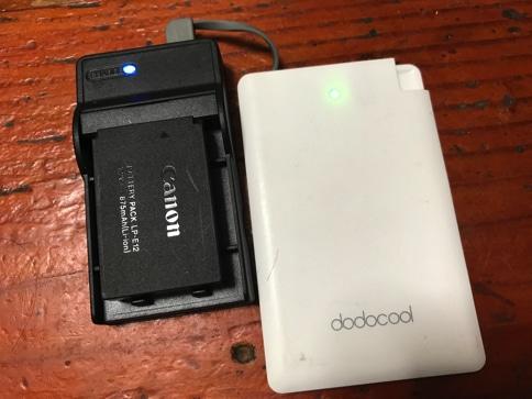 Canon Kiss x7のバッテリー充電器「LC-E12」がなくなったので互換性のあるUSB充電器を購入04