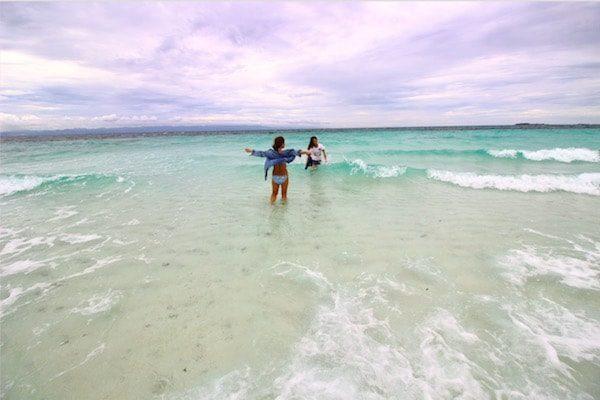 バゴンバヌアのビーチ