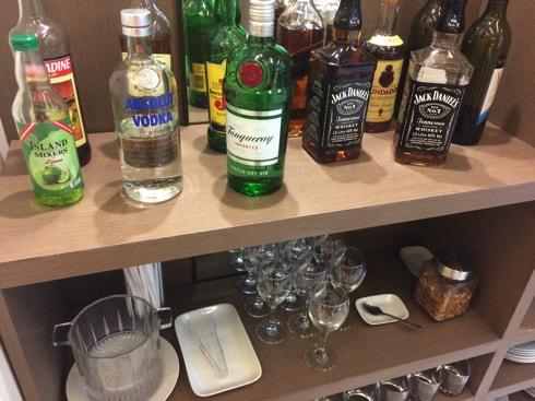 アルコール・ソフトドリンクもフリー