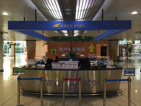 仁川空港のトラベルセンター