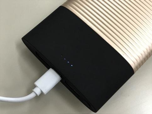 モバイルバッテリー「PERFUME 10000mAh」はUSBでもLightningケーブルでも充電可能!06