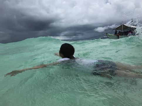 バゴンバヌアの海01