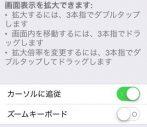 【iOS8】iPhoneにデジタル老眼鏡(虫眼鏡)を設定する手順